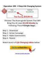 operation 10k 4 step life changing system