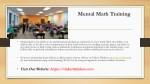 mental math training