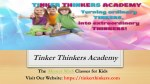 tinker thinkers academy