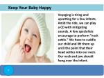 keep your baby happy