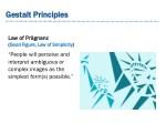 gestalt principles gestalt principles