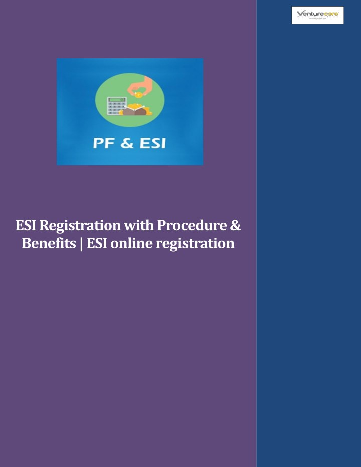 esi registration with procedure benefits n.
