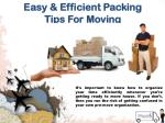 easy efficient packing tips for moving