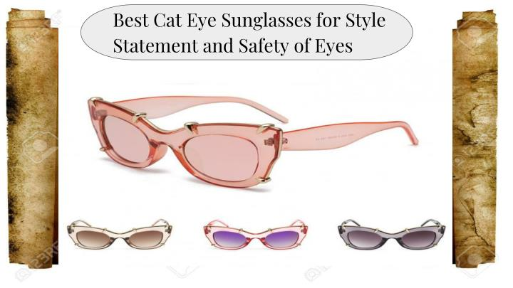 best cat eye sunglasses for style statement n.
