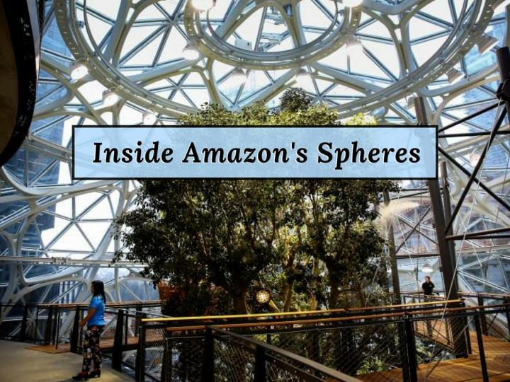 inside amazon s spheres n.