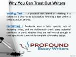 why you can trust our writers 1