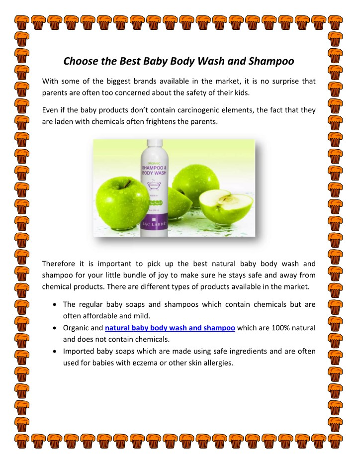 choose the best baby body wash and shampoo best n.