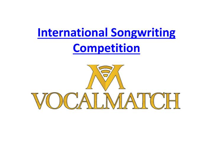 international songwriting competition n.