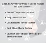 dbsl have various types of phone system for your