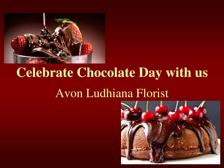 celebrate chocolate day with us n.