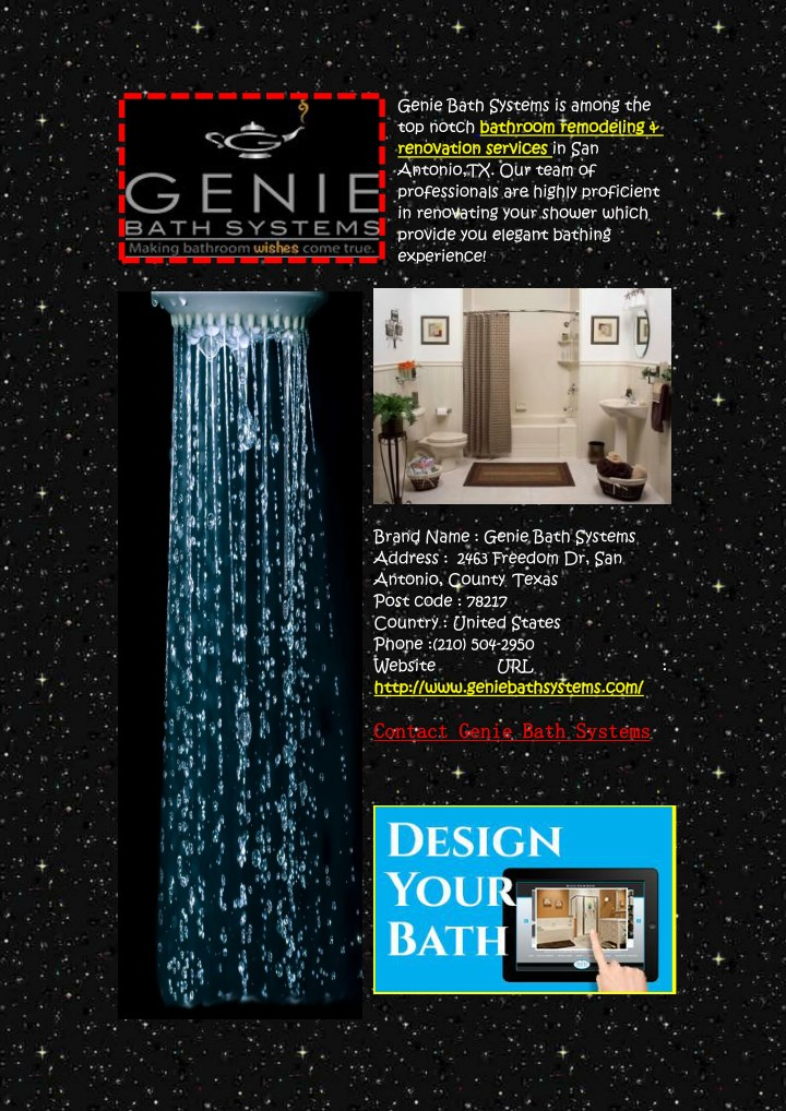 genie bath systems is among the top notch n.