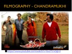 filmography chandramukhi