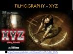 filmography xyz