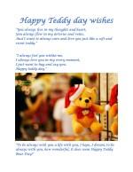 happy teddy day wishes happy teddy day wishes