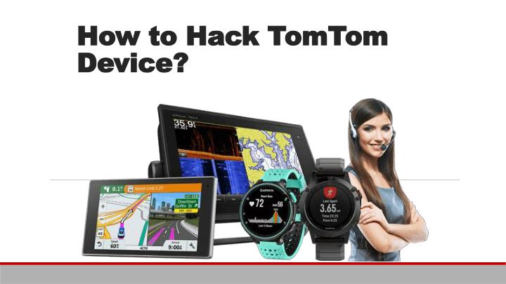 how to hack tomtom device n.