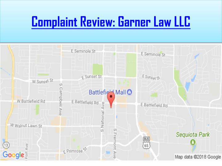 complaint review garner law llc n.