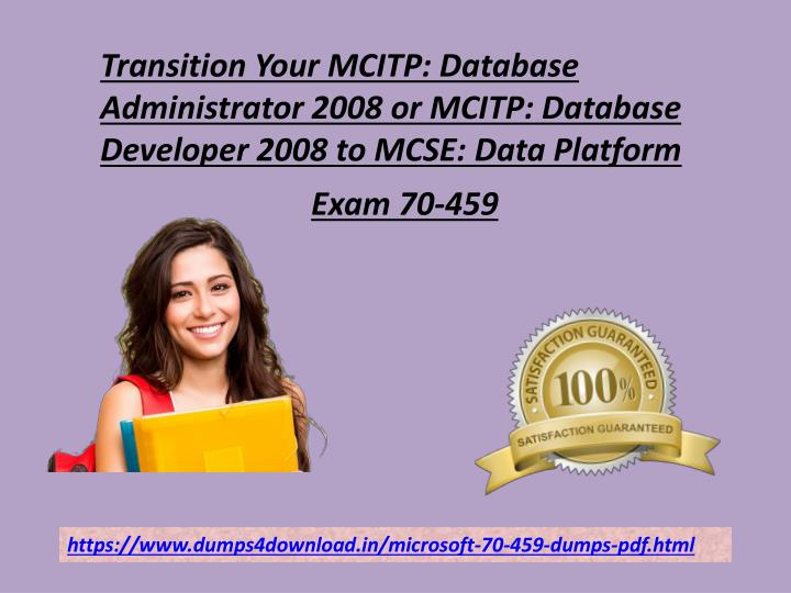transition your mcitp database administrator 2008 n.