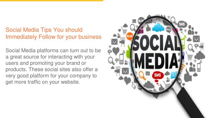 social media tips you should immediately follow n.