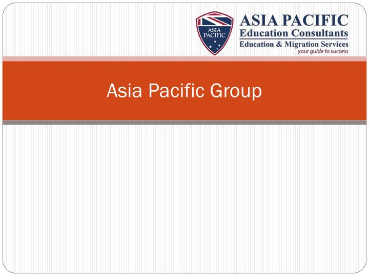 asia pacific group n.