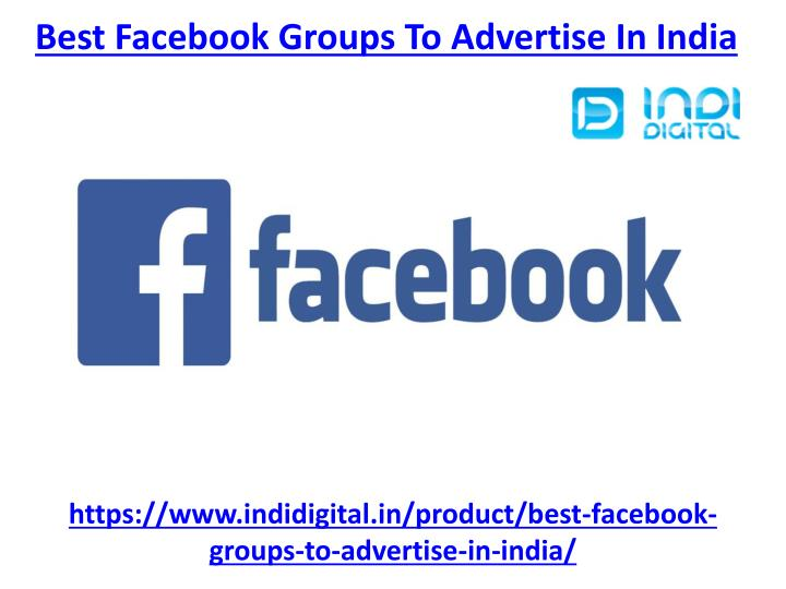 best facebook groups to advertise in india n.