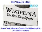 hire wikipedia editor 1