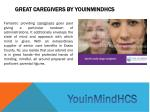 great caregivers by youinmindhcs