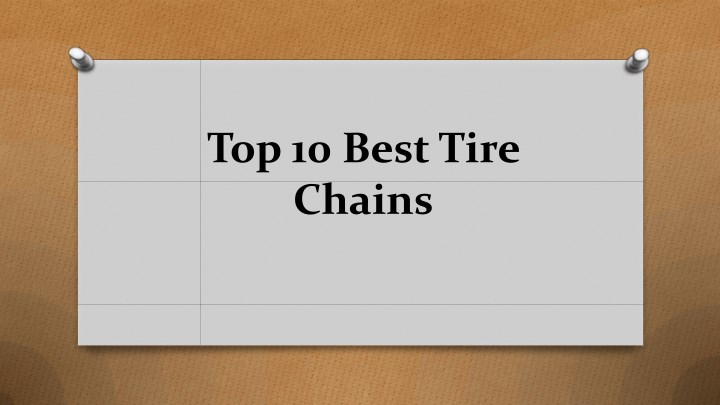 top 10 best tire chains n.