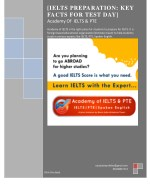 ielts preparation key facts for test day academy
