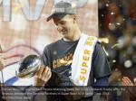 denver broncos quarterback peyton manning holds