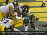 green bay packers safety nick collins scores