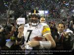 pittsburgh steelers ben roethlisberger celebrates
