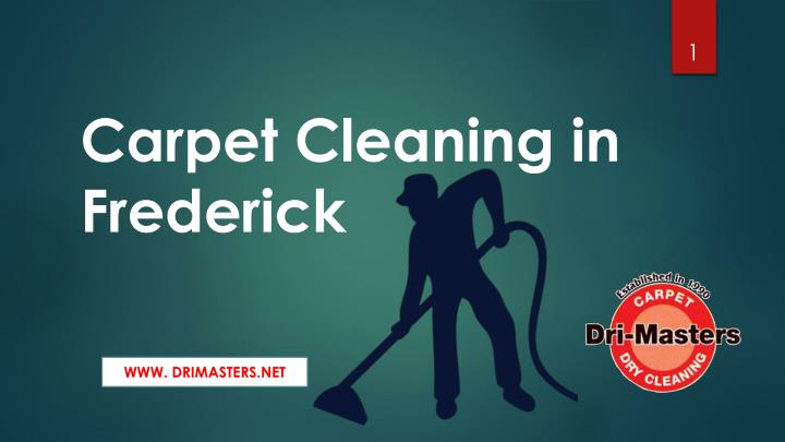 carpet cleaning in frederick n.
