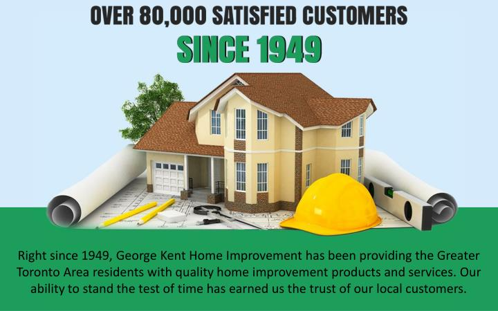 right since 1949 george kent home improvement n.