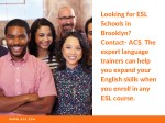 looking for esl schools in brooklyn contact