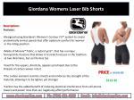 giordana womens laser bib shorts