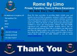 rome by limo