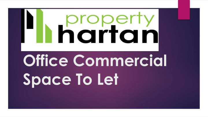 office commercial space to let n.