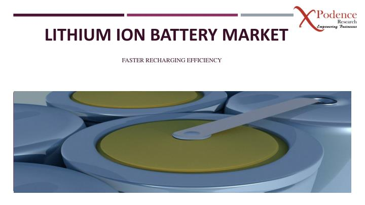 lithium ion battery market n.