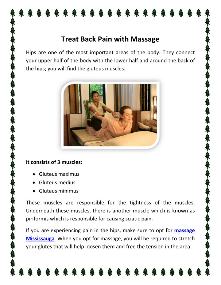 treat back pain with massage treat back pain with n.
