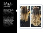 2 sew 2 sew in hair extension hair extension