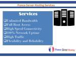 france server hosting services