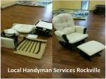local handyman services rockville