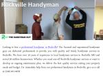 rockville handyman