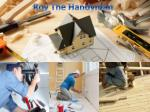roy the handyman