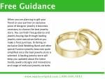 free guidance