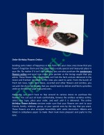 order birthday flowers online sending some token