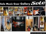 solo music gear gallery