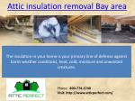 attic insulation removal bay area