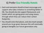 6 prefer eco friendly hotels