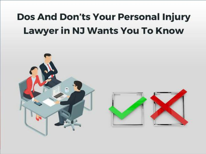 dos and don ts your personal injury lawyer n.